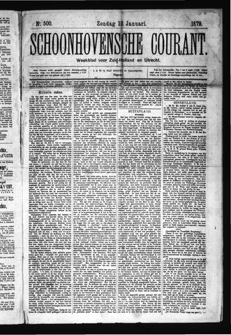 Schoonhovensche Courant 1879-01-12