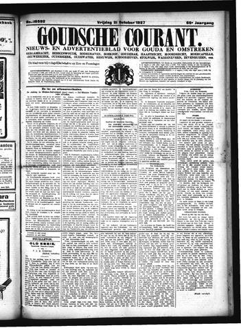 Goudsche Courant 1927-10-21