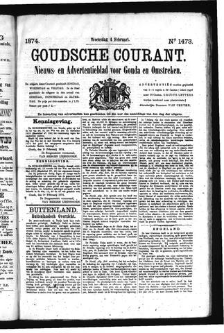 Goudsche Courant 1874-02-04