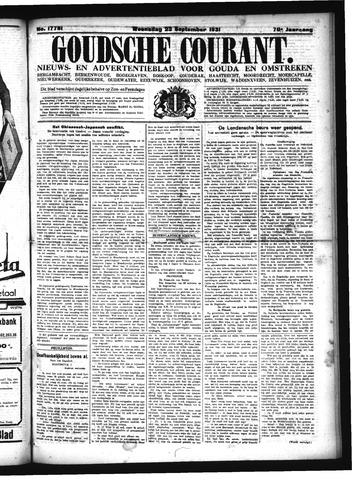 Goudsche Courant 1931-09-23