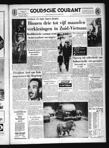 Goudsche Courant 1966-04-14