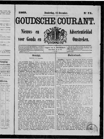 Goudsche Courant 1862-12-11