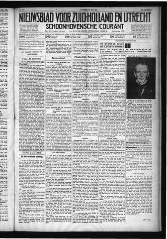 Schoonhovensche Courant 1931-07-27