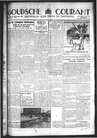 Goudsche Courant 1941-09-16