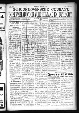 Schoonhovensche Courant 1927-10-14