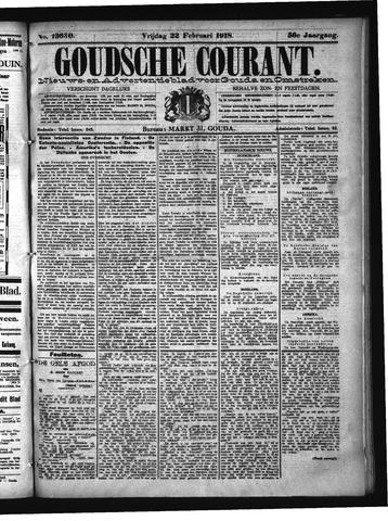 Goudsche Courant 1918-02-22