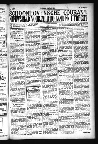 Schoonhovensche Courant 1927-07-25