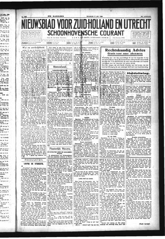 Schoonhovensche Courant 1933-07-17