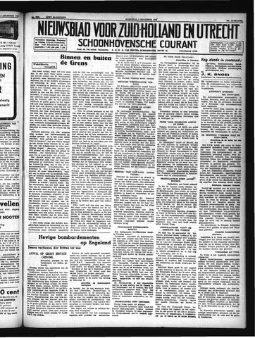 Schoonhovensche Courant 1940-12-04