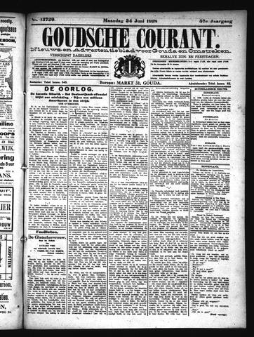 Goudsche Courant 1918-06-24