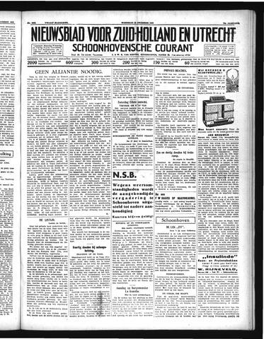Schoonhovensche Courant 1938-12-21