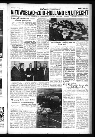Schoonhovensche Courant 1962-10-22