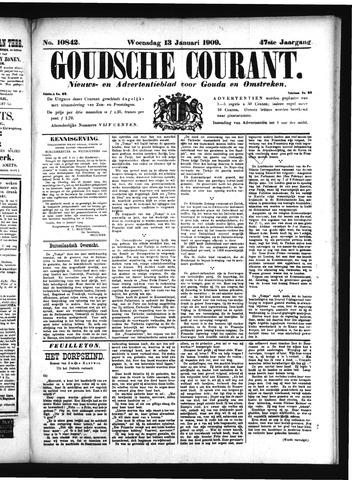 Goudsche Courant 1909-01-13