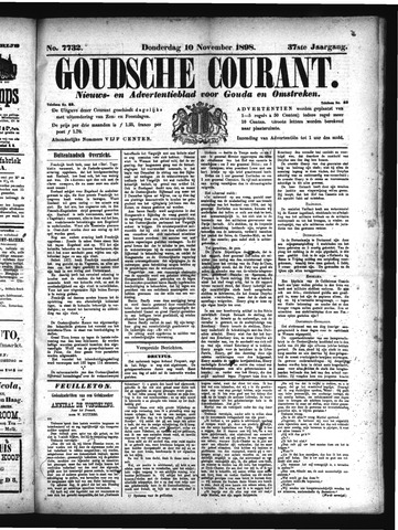 Goudsche Courant 1898-11-10