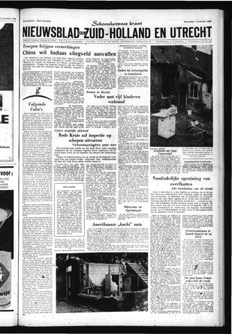 Schoonhovensche Courant 1962-11-07