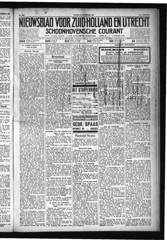 Schoonhovensche Courant 1929-09-27