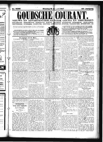 Goudsche Courant 1927-01-18