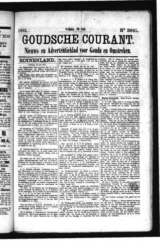 Goudsche Courant 1881-07-29