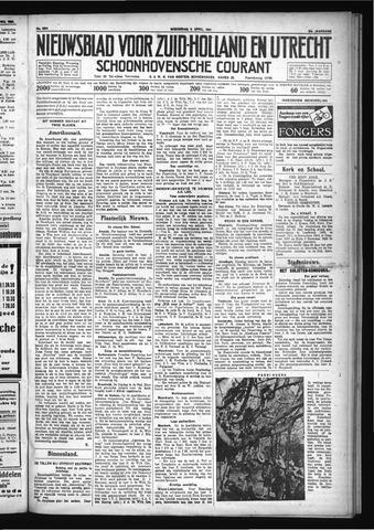 Schoonhovensche Courant 1931-04-08
