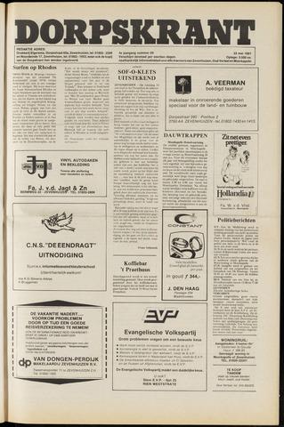 Dorpskrant 1981-05-22
