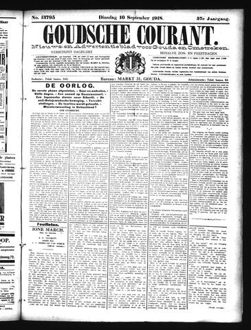 Goudsche Courant 1918-09-10