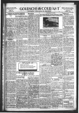 Goudsche Courant 1944-04-21