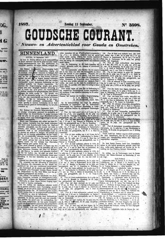 Goudsche Courant 1887-09-11