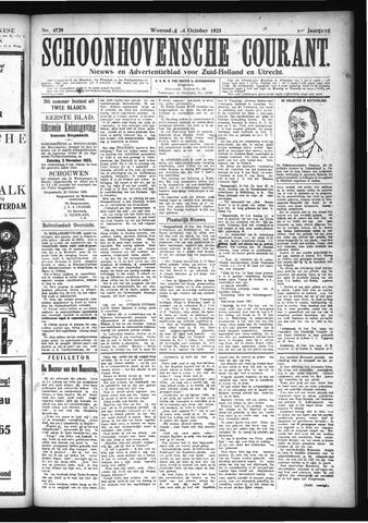 Schoonhovensche Courant 1923-10-24