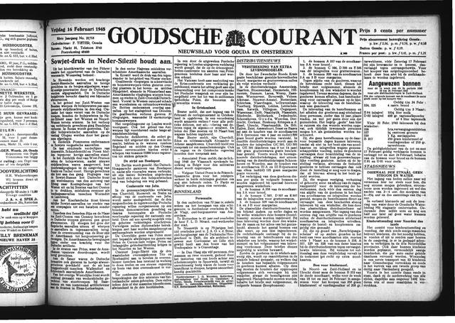 Goudsche Courant 1945-02-16