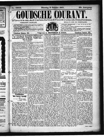 Goudsche Courant 1917-10-09