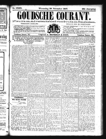 Goudsche Courant 1917-11-28