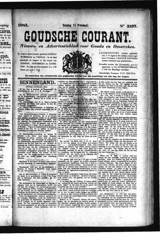 Goudsche Courant 1885-02-15