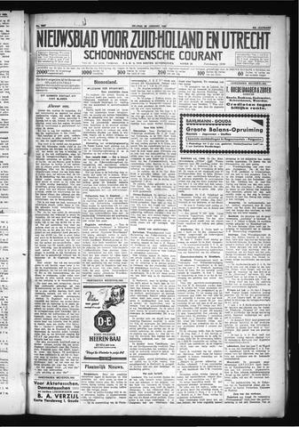 Schoonhovensche Courant 1930-01-24