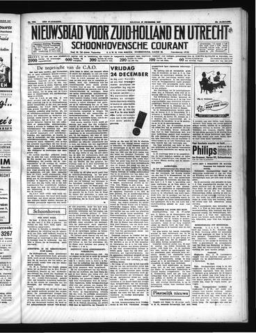Schoonhovensche Courant 1937-12-20