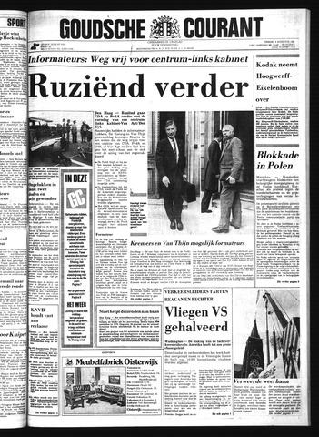 Goudsche Courant 1981-08-04