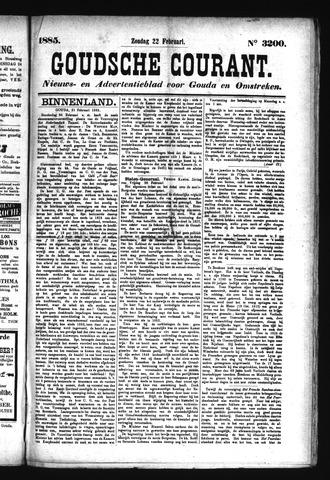 Goudsche Courant 1885-02-22