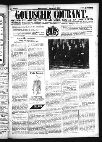 Goudsche Courant 1936-01-27