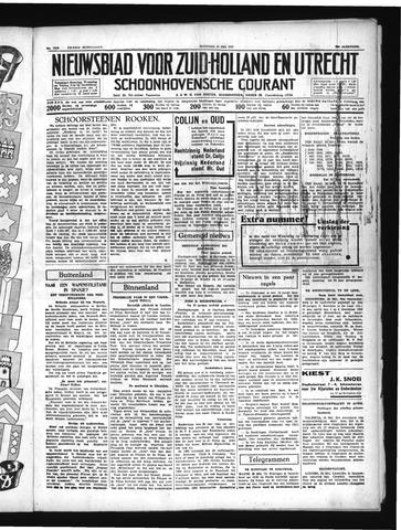 Schoonhovensche Courant 1937-05-24