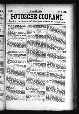 Goudsche Courant 1886-10-29