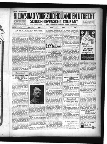 Schoonhovensche Courant 1937-02-01