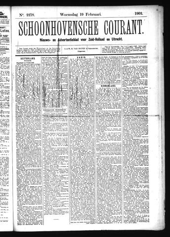 Schoonhovensche Courant 1902-02-19