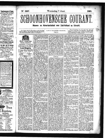 Schoonhovensche Courant 1899-06-07