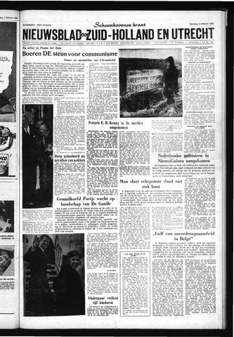 Schoonhovensche Courant 1962-02-05