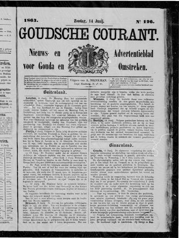 Goudsche Courant 1863-06-14