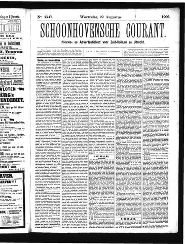 Schoonhovensche Courant 1906-08-29