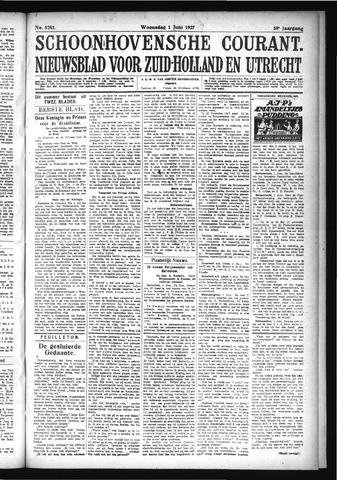 Schoonhovensche Courant 1927-06-01