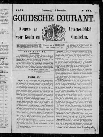 Goudsche Courant 1863-12-24