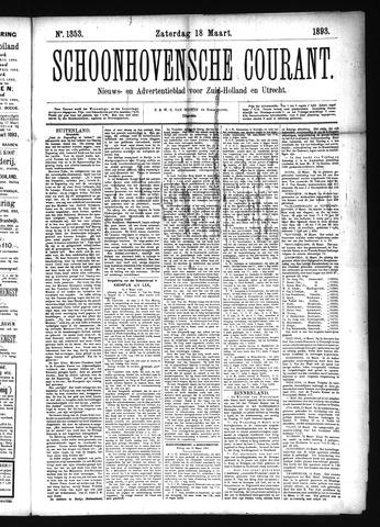 Schoonhovensche Courant 1893-03-18