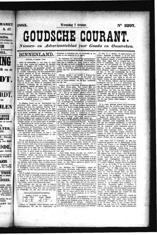 Goudsche Courant 1885-10-07