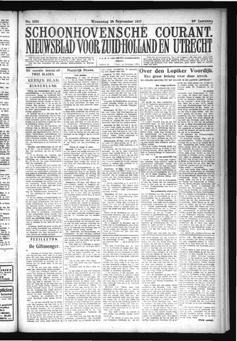 Schoonhovensche Courant 1927-09-28